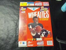 Walter Payton wheaties box   18oz   75 years of champions