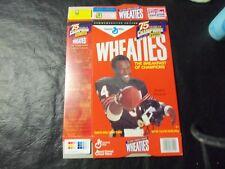 Walter Payton wheaties box   18oz   75 years of champions
