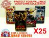 25X NINTENDO SUPER FAMICOM CIB GAME - CLEAR PLASTIC PROTECTIVE BOX PROTECTORS