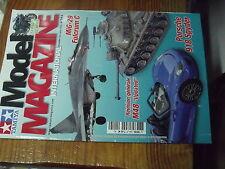 7µ?§ Revue Tamiya Model Magazine n°144 Mig-29 Porsche 918 AMD-35 M48 Epave 4CV