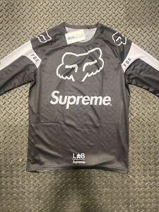 Fox X Supreme Jersey Black Medium