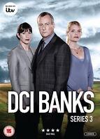 DCI BANKS COMPLETE SERIES 3 DVD Third Season Stephen Tompkinson Andrea Lowe New