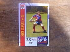 1997 ADELAIDE RAMS SUPER LEAGUE CARD #10 CAMERON BLAIR