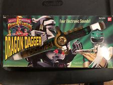 Mighty Morphin Power Rangers Dragon Dagger with Original Box Bandai 1994