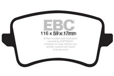 EBC Ultimax Rear Brake Pads for Audi A4 Quattro (B8) 2.0 TD (2011 > 15)