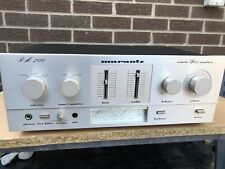 Marantz PM200 Console Stereo Amplifier with phono stage.