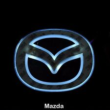 LED Car Tail Logo White light Auto Badge Light for Mazda 5 New Mazda 6