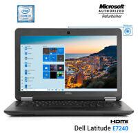 Dell latitude E7240 Laptop Intel Core i5-4300u 2.9GHz 16GB RAM 512GB NEW SSD PC