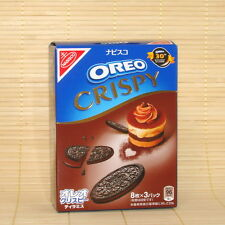 Japan Nabiso CRISPY OREO TIRAMISU COOKIES Chocolate Japanese candy 24 pack Thins