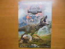 Jurassic World: Fallen Kingdom MOVIE FLYER Mini Poster Chirashi Japan 30-5