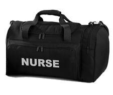 NURSE Branded Black Holdall/Work Bag Paramedic Ambulance St John - 2 Free Pens