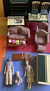 Melissa & Doug Dollhouse Furniture + Extras