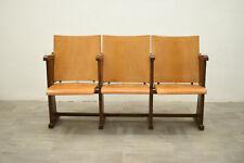 Sedie poltrone da cinema 3 sedute a ribaltina anni 50 vintage modernariato