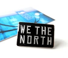 More details for official toronto raptors logo pin badge new nba pack canada basketball