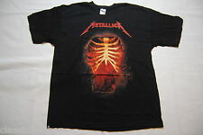 Metallica écrasée thru t shirt xl new official battery damage inc hetfield rare