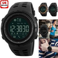 ce7f197962a5 SKMEI Fashion Men s Smart Watch Bluetooth Digital Sports Wrist Watch  Waterproof