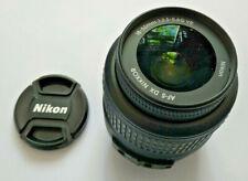 Nikon Black dx vr af-s nikkor 18-55mm 1:3.5-5.6 G Lens