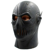 Halloween Cosplay The Flash 2 Zoom Latex Helmet Mask Full Face Fancy Dress