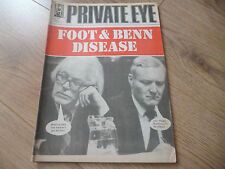 April Private Eye History & Politics Magazines
