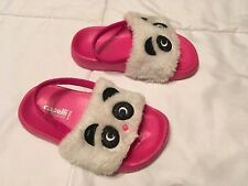 Girl's Panda Shoes Size 6/7 Made By Capelli Kids