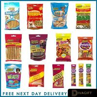 790g Pedigree Schmackos Dog Treats Mixed Meat Variety Mega Box 110 Dog chews
