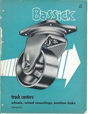 MRO Brochure - Bassick - Truck Casters Wheels Material Handling - 1952 (MR19)