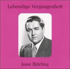 """Lebendige Vergangenheit: Jussi Bj""""rling (CD, Jun-2002, Preiser Records)"""