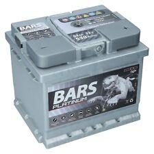 Autobatterie BARS PLATINUM 12V 53Ah Starterbatterie WARTUNGSFREI TOP ANGEBOT NEU