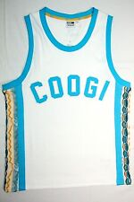 Puma coogi tank top basketball archive Jersey white blue mens Size M