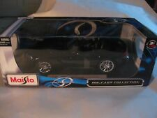 2010 Dodge Viper SRT-10 Convertibe In A Black 118 Scale Diecast By Maisto  dc335