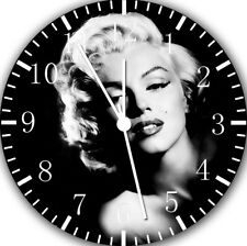 Marilyn Monroe Frameless Borderless Wall Clock Nice For Gifts or Decor Y102