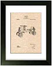 United States Patent Print Toy Car Automobile 1919 Vintage Antique