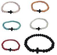 bracciale bracciali braccialini charms donna uomo rosario giada rosary croce