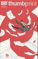 Joe Hill's Thumbprint #3 (of 3) Comic Book 2013 - IDW
