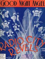 Kenny Baker - Radio City Revels - Good Night Angel 1938