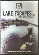 LAKE ESCAPES WITH MATT HAYES DVD - GAME FISHING AND DEEP-SEA FISHING