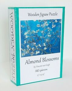 """Wooden Whimsy Puzzle with Bright Gift Box - """"Almond Blossoms"""" - 315 pcs"""