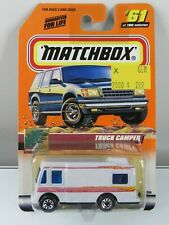 Matchbox Vintage 1999 #61 Truck Camper Motorhome Great Outdoors New in Package