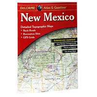 NEW Delorme New Mexico NM Atlas and Gazetteer Topo Road Map Topographic Maps