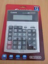 NEW Canon Calculator WS-1210 WS1210Hi iii 12 DIGIT Desktop Calculator free post