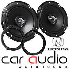 "Honda CIVIC 2006 ON 16 CM 6.5"" JVC 2 Way 600 W Front Door Car Speaker & Brackets"