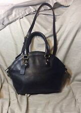 Vintage Coach Cashin Baxter British Leather Convertible Speedy Satchel Purse