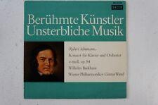 Schumann Klavierkonzert op 54 Wilhelm Backhaus Günter Wand Wiener Philharmo(LP8)