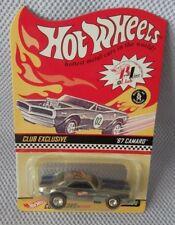 1967 CAMARO with RR  Hot Wheels  2002 RLC Exclusive (Collector #016) 1 of 10,000