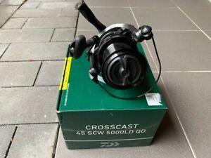 2 x DAIWA. CROSSCAST 45 SCW 5000LD QD