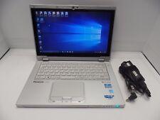 Panasonic TOUGHBOOK CF-AX2 Mk1 1.8GHz i5 4GB 128GB Ultrabook TouchScreen WIN10P