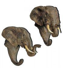 Elefantenkopf Wandhaken Figur Elefant Tier TOP