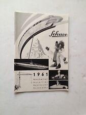 Schuco  Katalog 1961