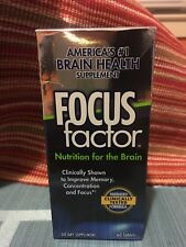 FOCUS FACTOR Nutrition for Brain memory Concentration 60 Tablets NIB exp 6/2020