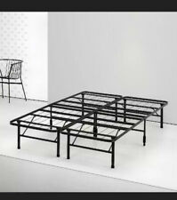 """Bed Frame Black by Spa Sensations Zinus 14"""" Steel SmartBase Twin-Full Brand New"""